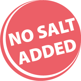 no salt added
