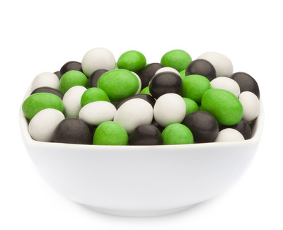 WHITE, GREEN & BLACK PEANUTS