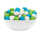 WHITE, GREEN & BLUE PEANUTS