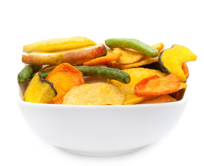 VEGETABLE & FRUIT CHIPS Muster