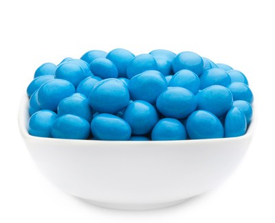 BLUE CHOCO PEANUTS Muster