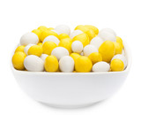 WHITE & YELLOW PEANUTS Muster