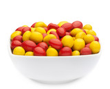 YELLOW & RED PEANUTS Muster