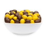 YELLOW & BROWN PEANUTS Muster