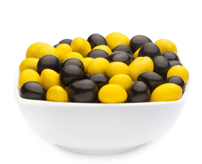 YELLOW & BLACK PEANUTS Muster