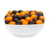 ORANGE & BLACK PEANUTS Muster