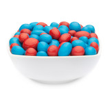 RED & BLUE PEANUTS Muster