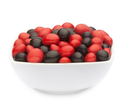 RED & BLACK PEANUTS Muster