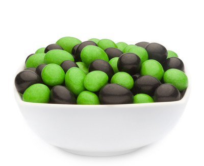 GREEN & BLACK PEANUTS Muster