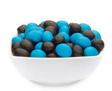 BLUE & BLACK PEANUTS Muster