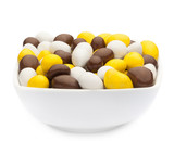 WHITE, YELLOW & BROWN PEANUTS Muster