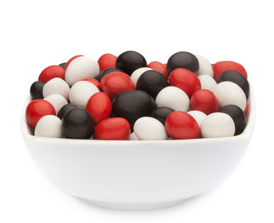 WHITE, RED & BLACK PEANUTS Muster