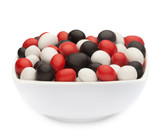 WHITE, RED & BLACK PEANUTS sample
