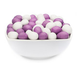 WHITE & PURPLE PEANUTS