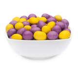 YELLOW & PURPLE PEANUTS Muster