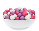 WHITE, PINK & PURPLE PEANUTS Muster