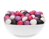 WHITE, PINK, PURPLE & BLACK PEANUTS
