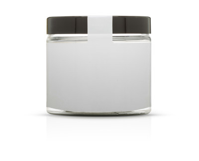 PET jar (black lid)